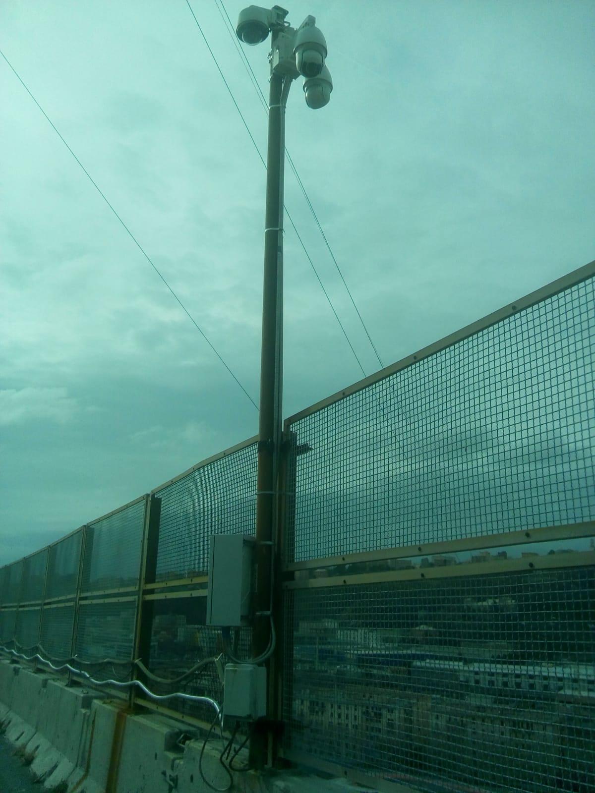 Autostrade Spa – installazione di telecamere per controllo e monitoraggio traffico lungo le tratte autostradali